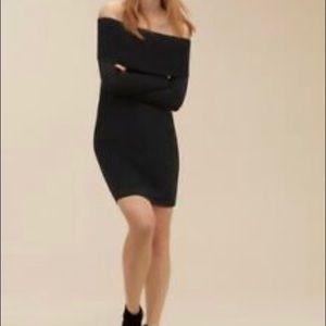Wilfred free size medium amilna dress in black